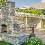 Stone Outdoor Fireplace – Setting It Up Properly