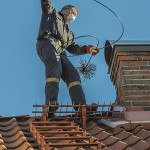 The best way to inspect the chimneys